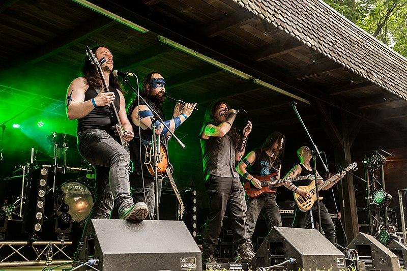 Die Irische Folk-Metal-Band Waylander